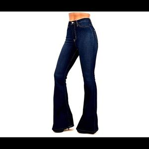 7b9d91ac88ca Jack David Jeans - Vintage High Waist women's Junior 70s Trendy Jeans